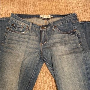 Abercrombie and Fitch Wide Leg Jeans in size 6L